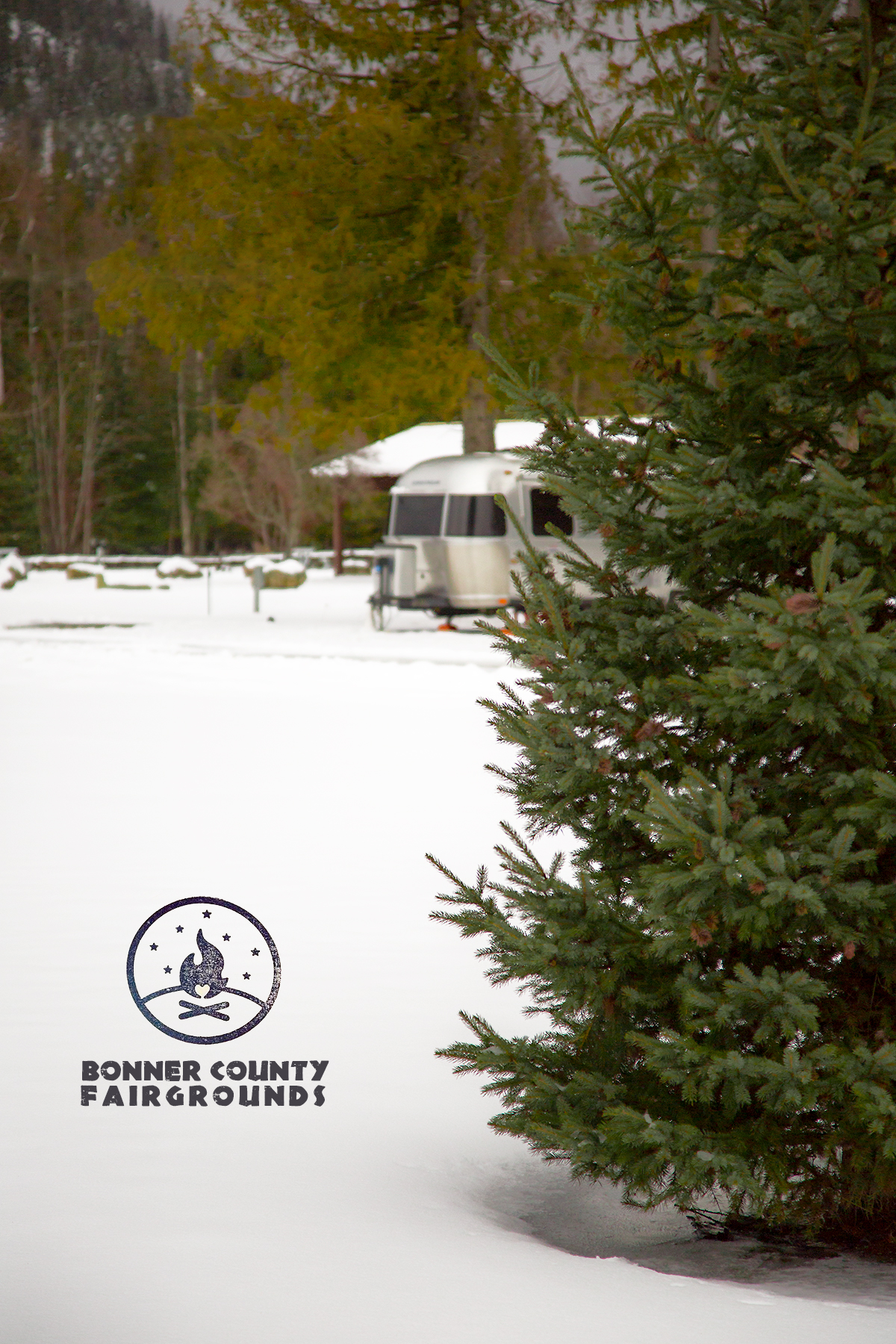 Bonner County Fairgrounds in Sandpoint, ID with our Airstream 2014