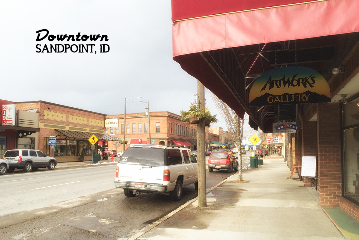 downtown Sandpoint, ID via J5MM.com