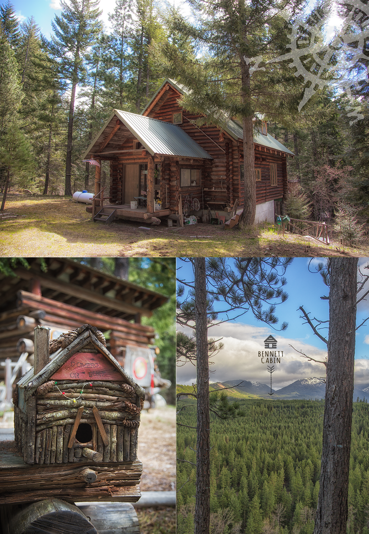 Bennett Cabin in Eastern Washington