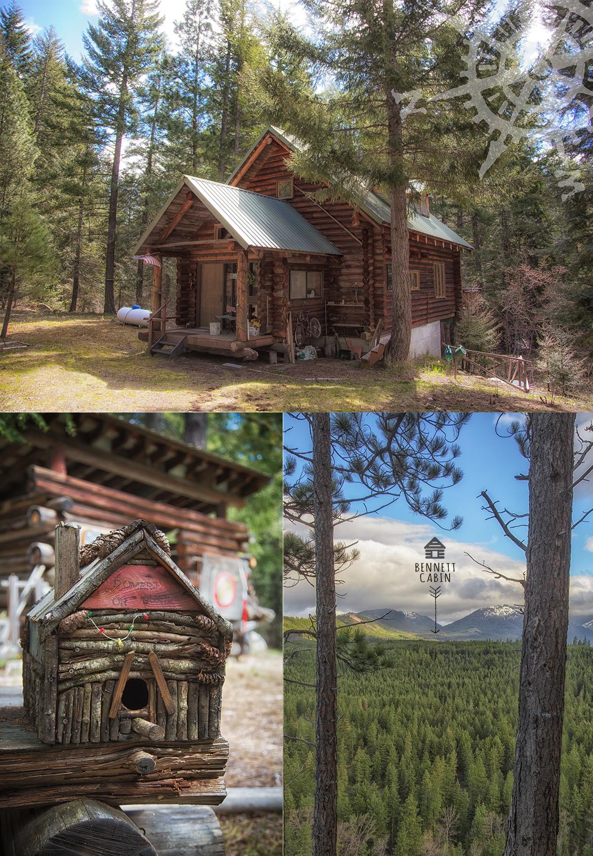 Bennett Cabin in Eastern Washington