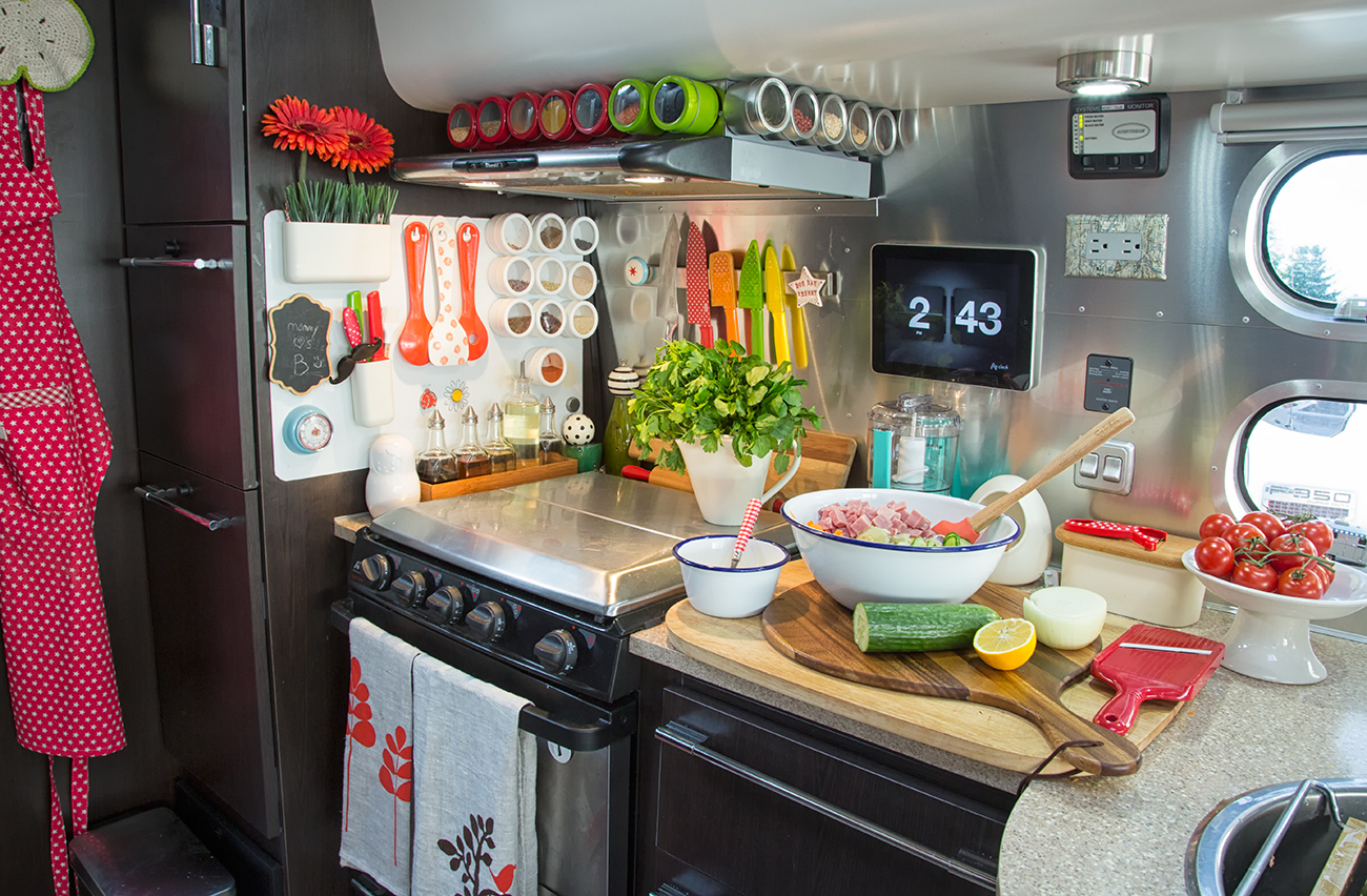 My Travel Trailer Kitchen