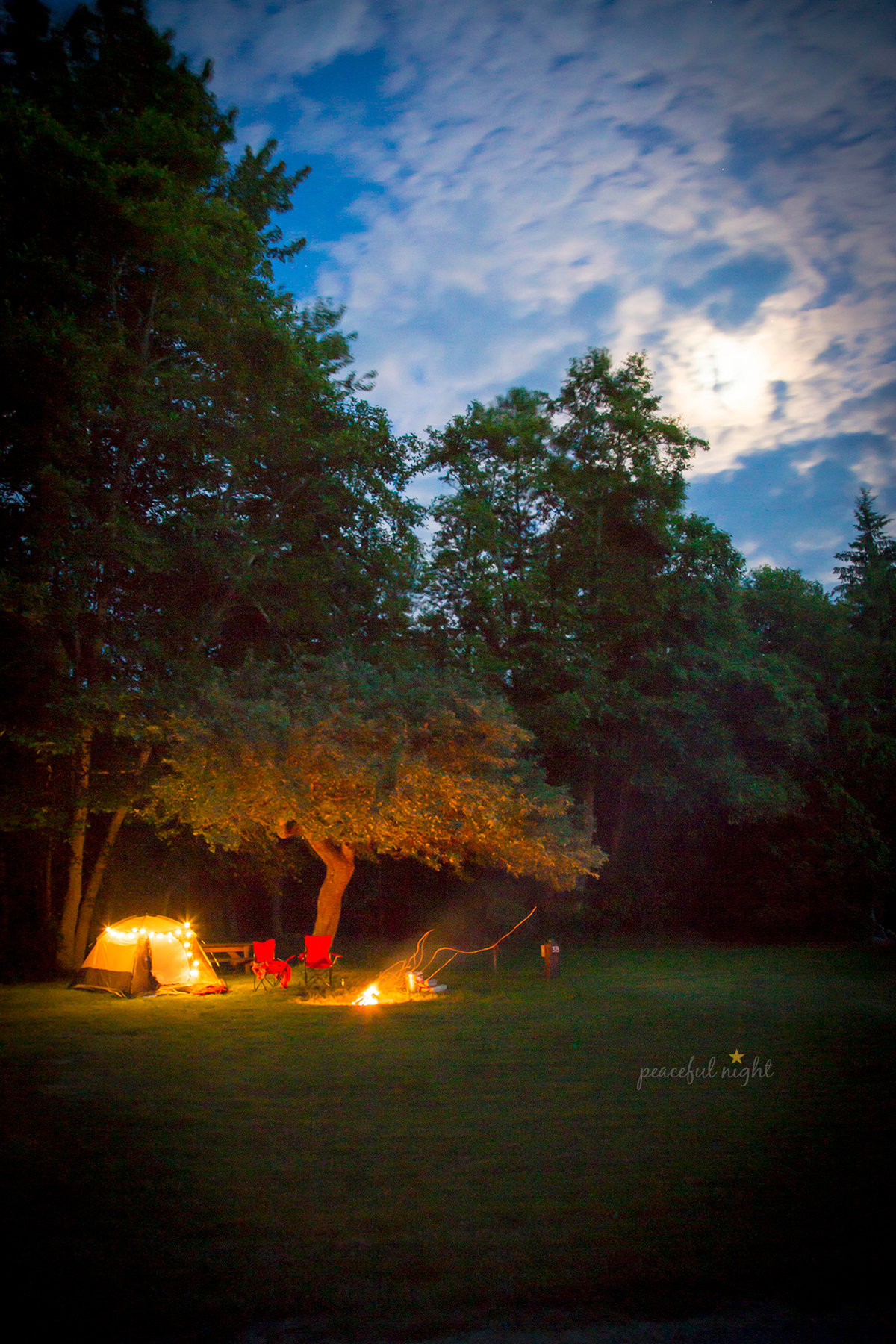 Camp at West Beach Resort on Orcas Island via J5MM.com