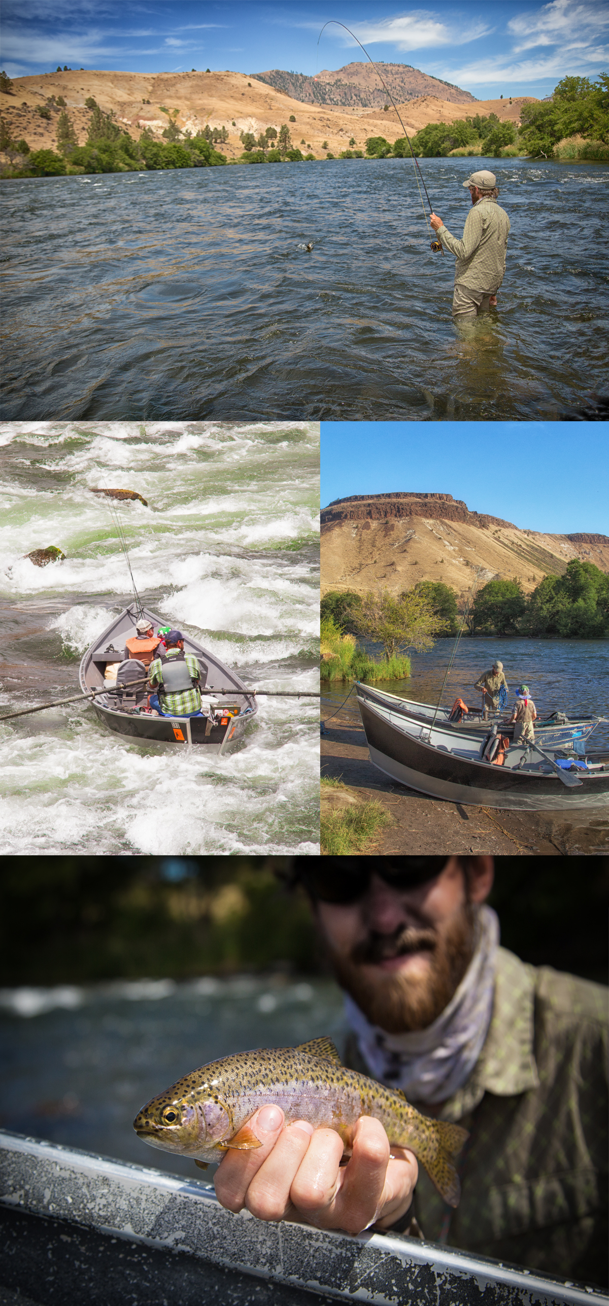 White Horse Rapids Deschutes with Matt Deschutes River Outfitters via J5MM.com