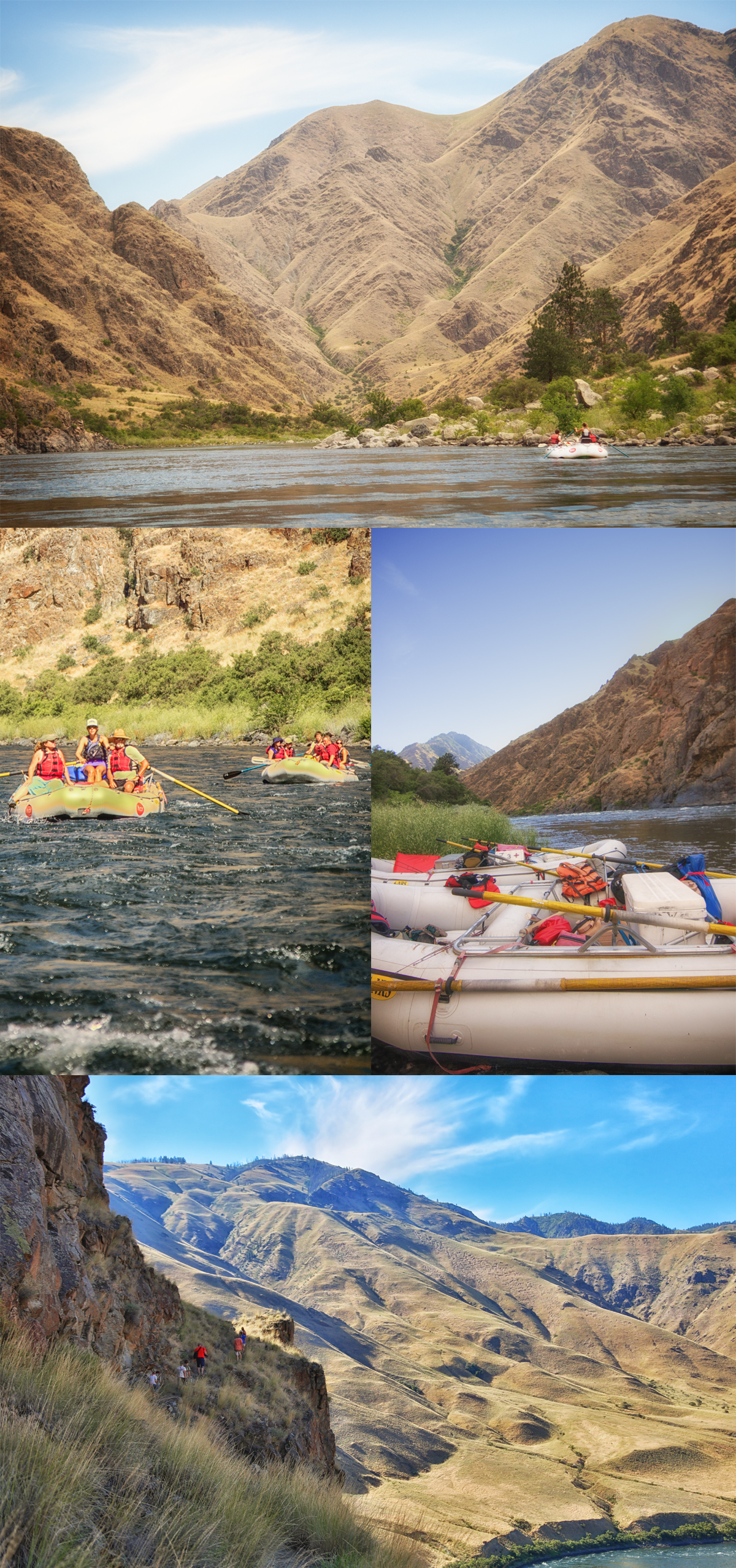 Hells Canyon River Raft trip with Hells Canyon Raft via J5MM.com