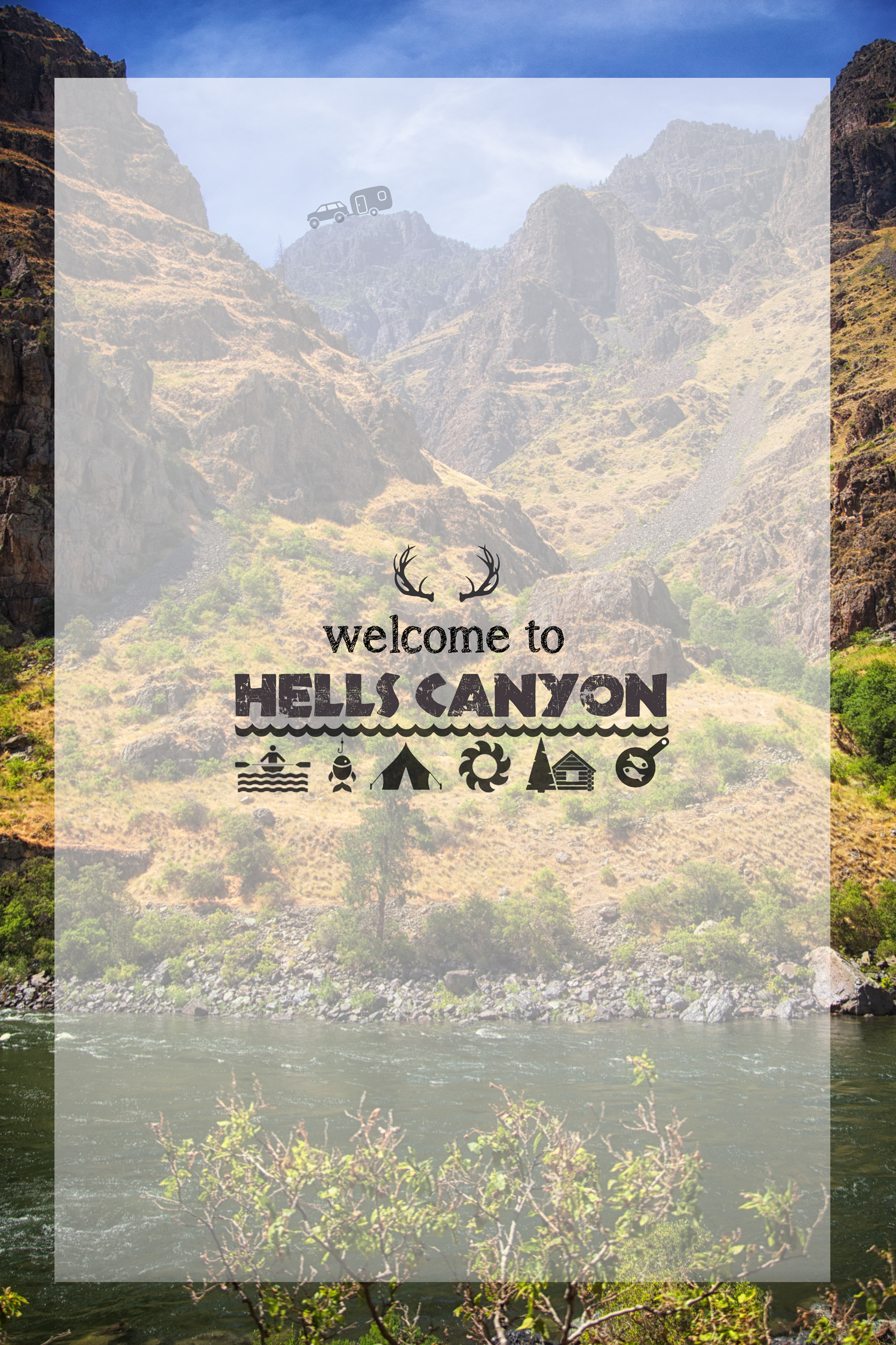 Rafting in Hells Canyon