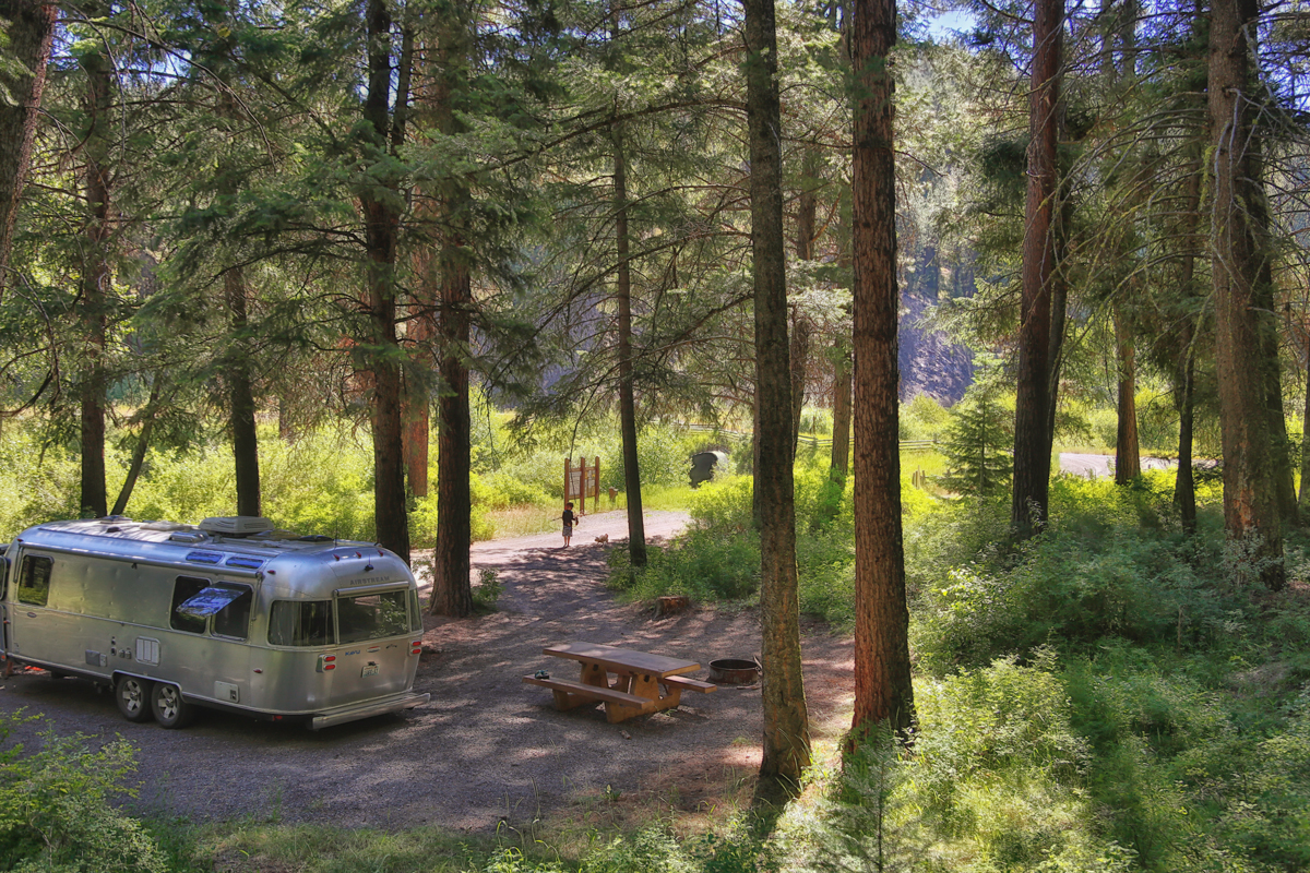 Wickiup Campground in Malheur Site #1 via J5MM.com