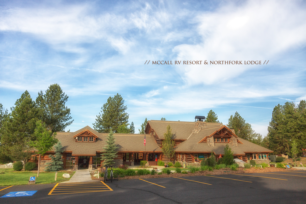 RV Resorts in McCall Idaho - Northfork Lodge via J5MM.com