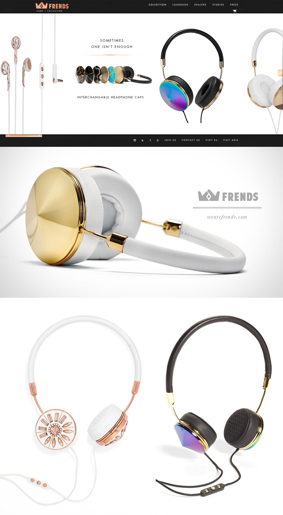 We are FRENDS - makers of the most awesome headphones EVER