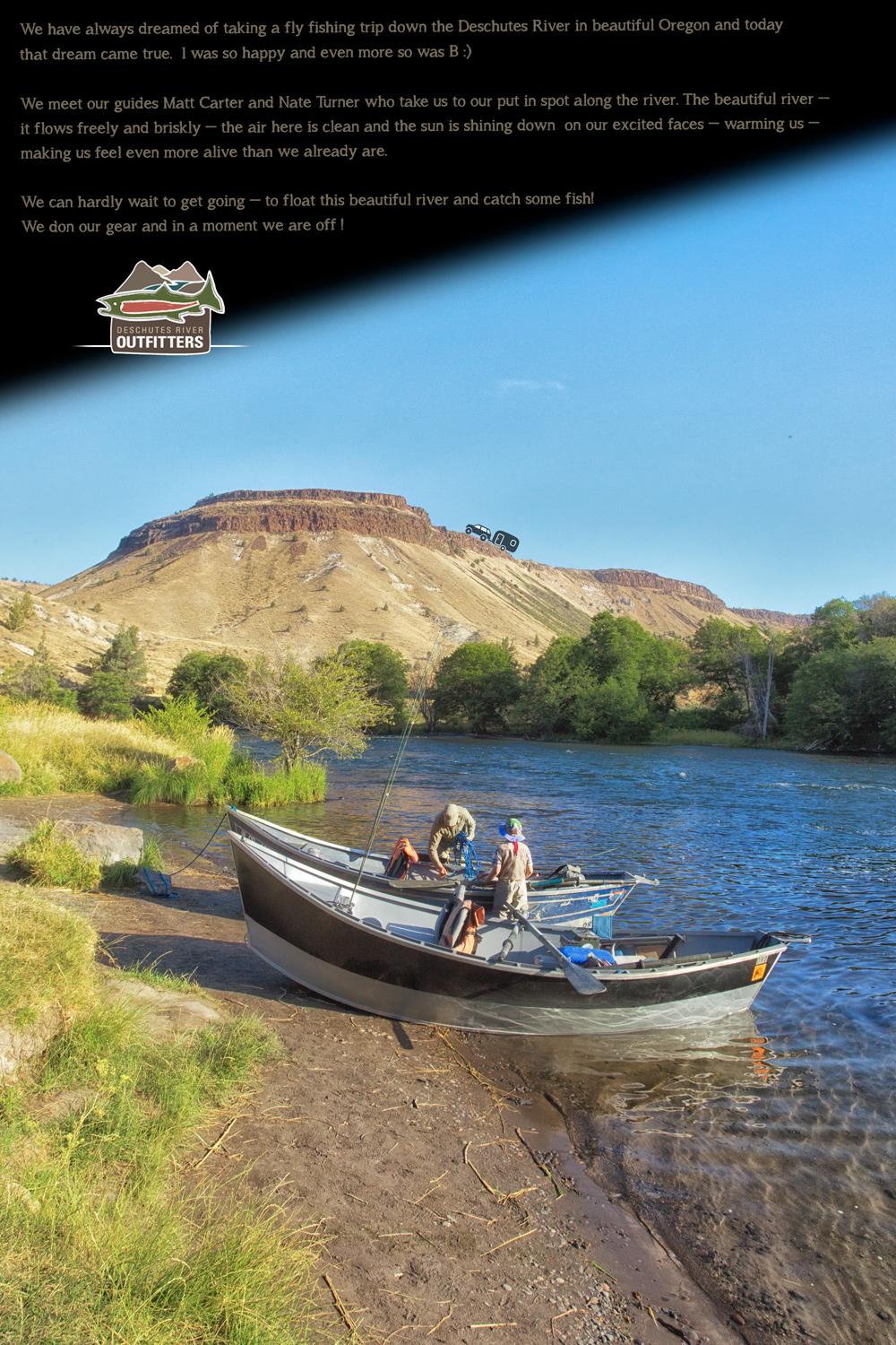 Fishing on the Deschutes River with Matt Carter and Nate Turner with Deschutes River Outfitters via J5MM.com
