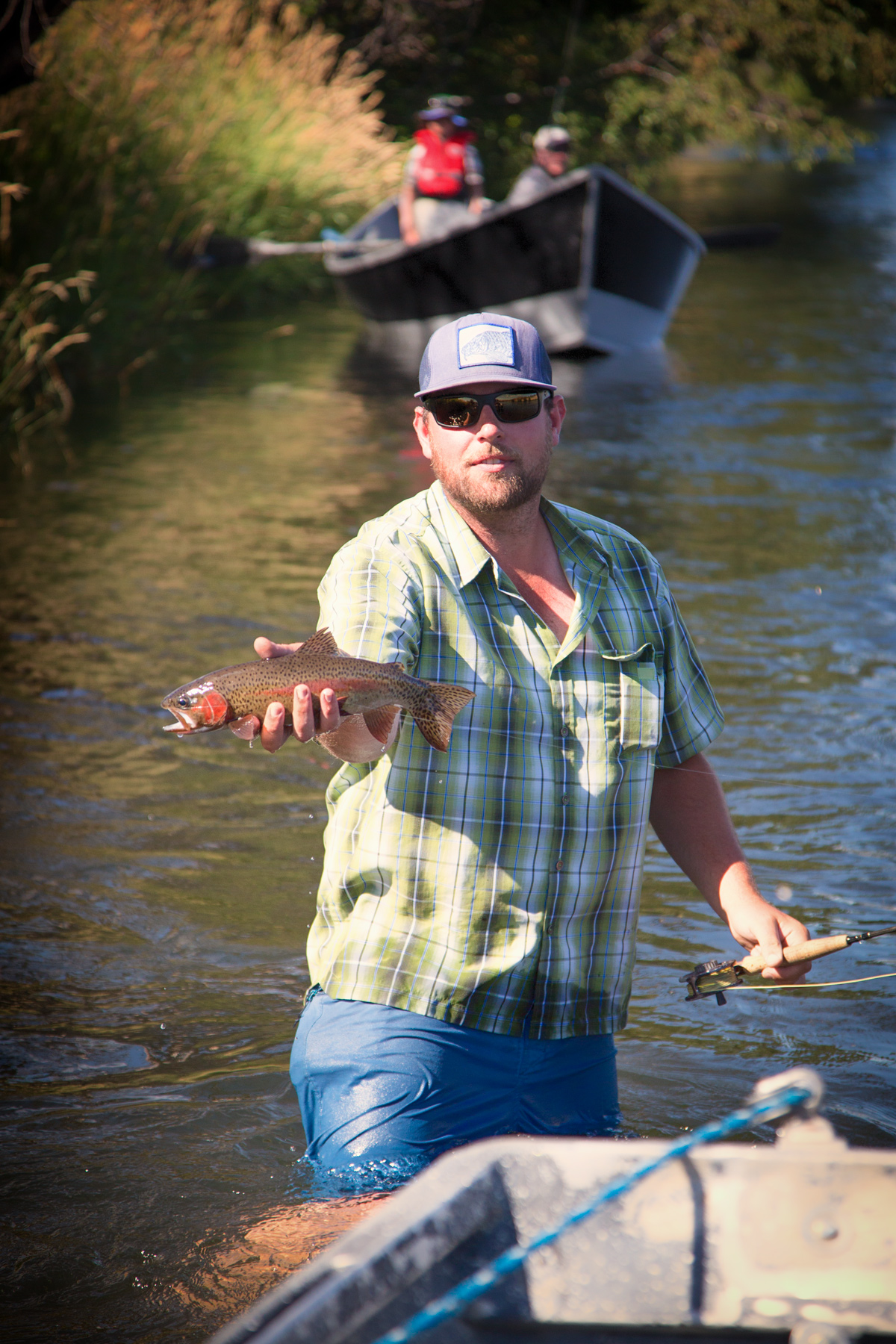 Fishing on the Deschutes River with Matt Carter of  Deschutes River Outfitters via J5MM.com