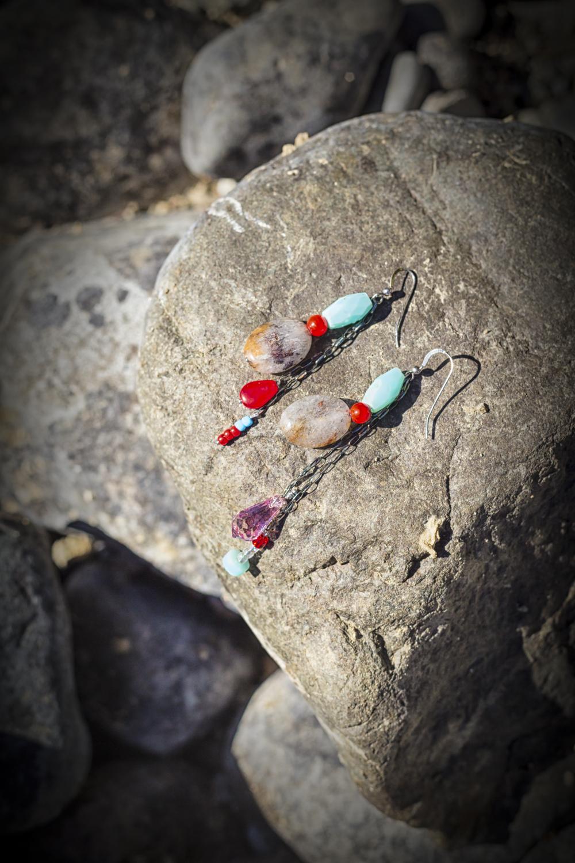 River Earrings via J5MM.com