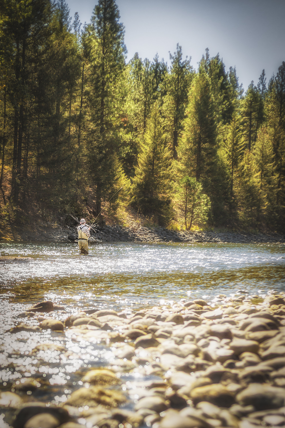 Fishing the Cle Elum River in Washington State via J5MM.com