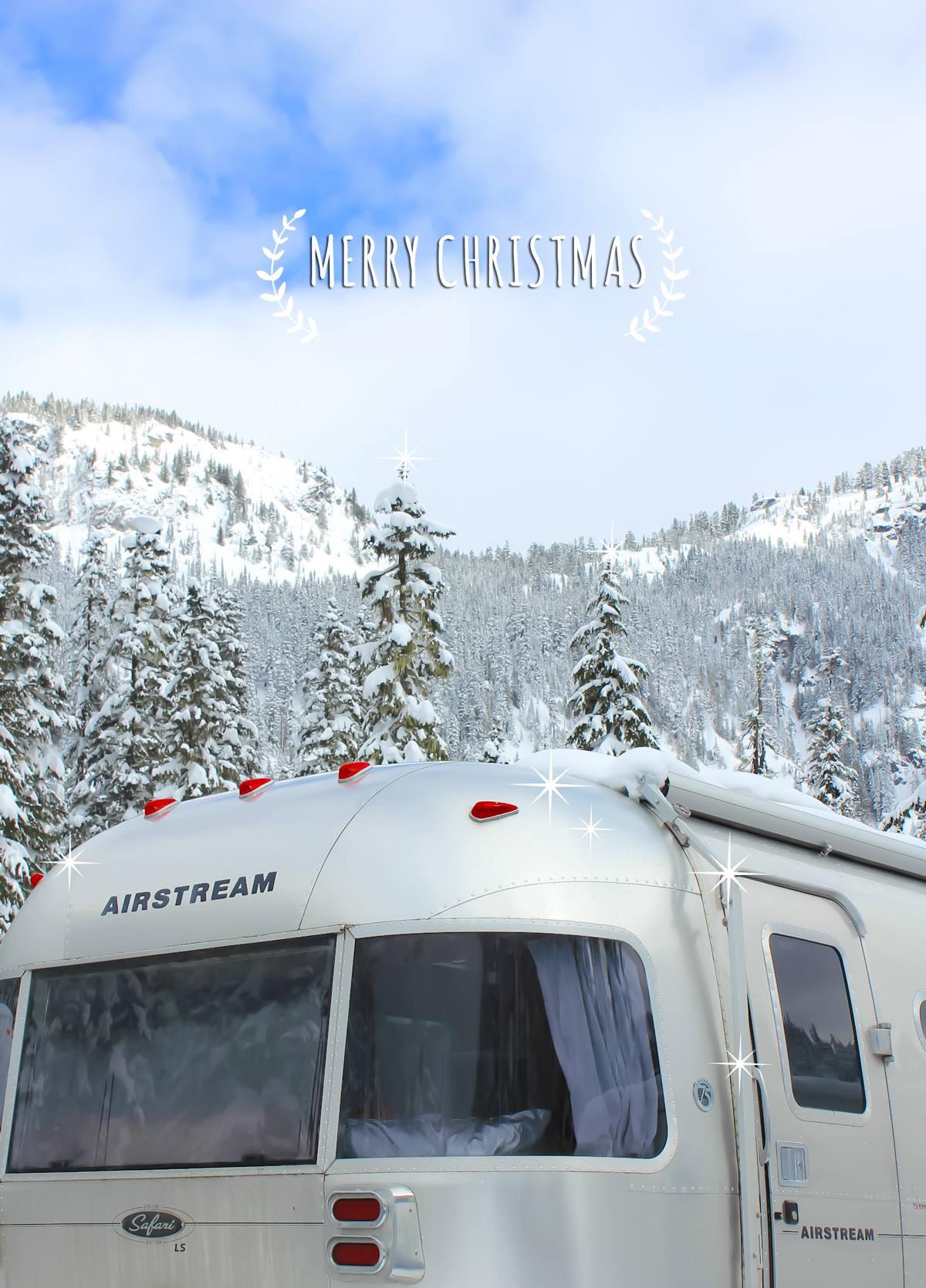 Airstream Merry Christmas via J5MM.com
