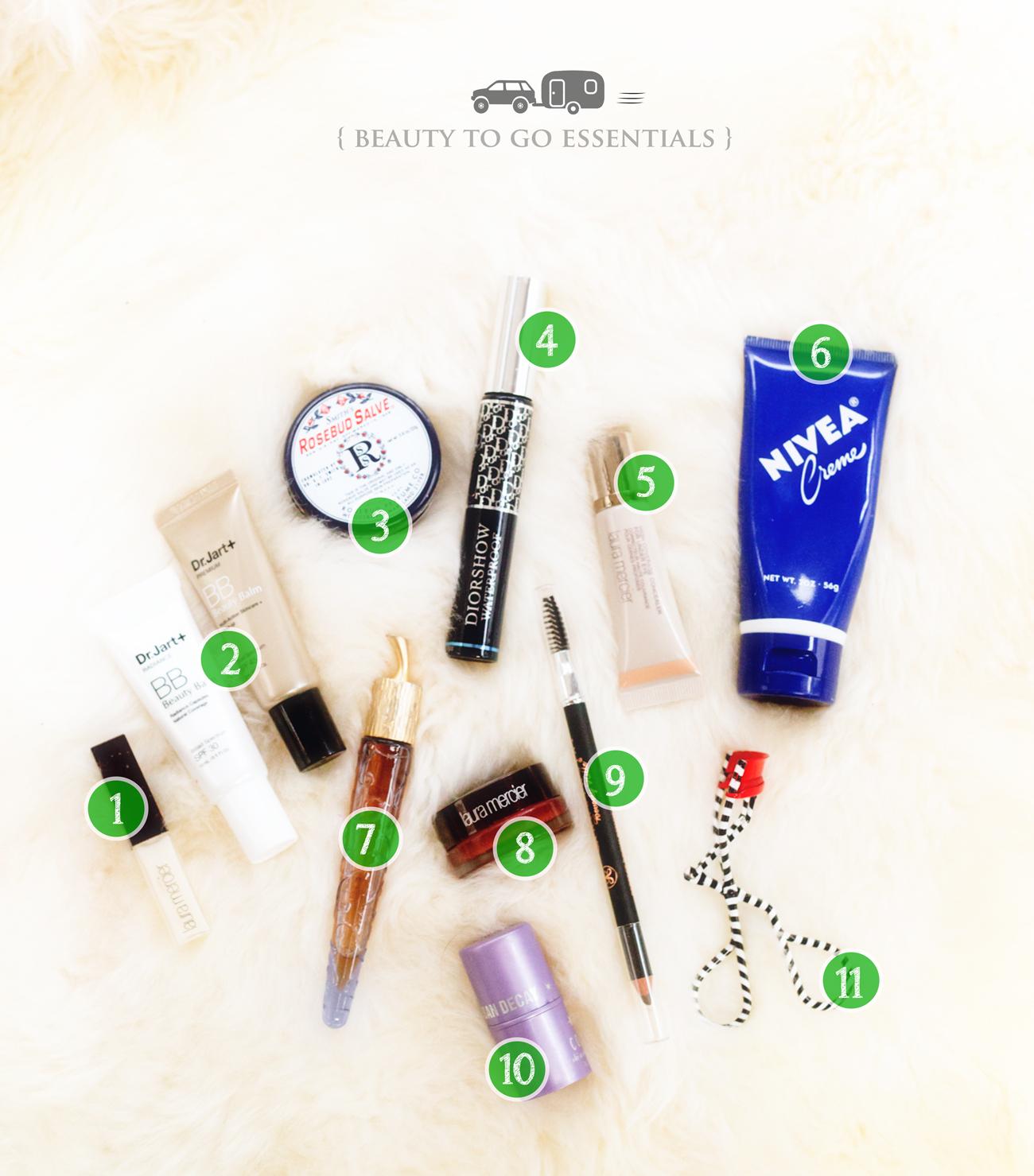 Beauty To Go // Glamping Fashion & Beauty via J5MM.com