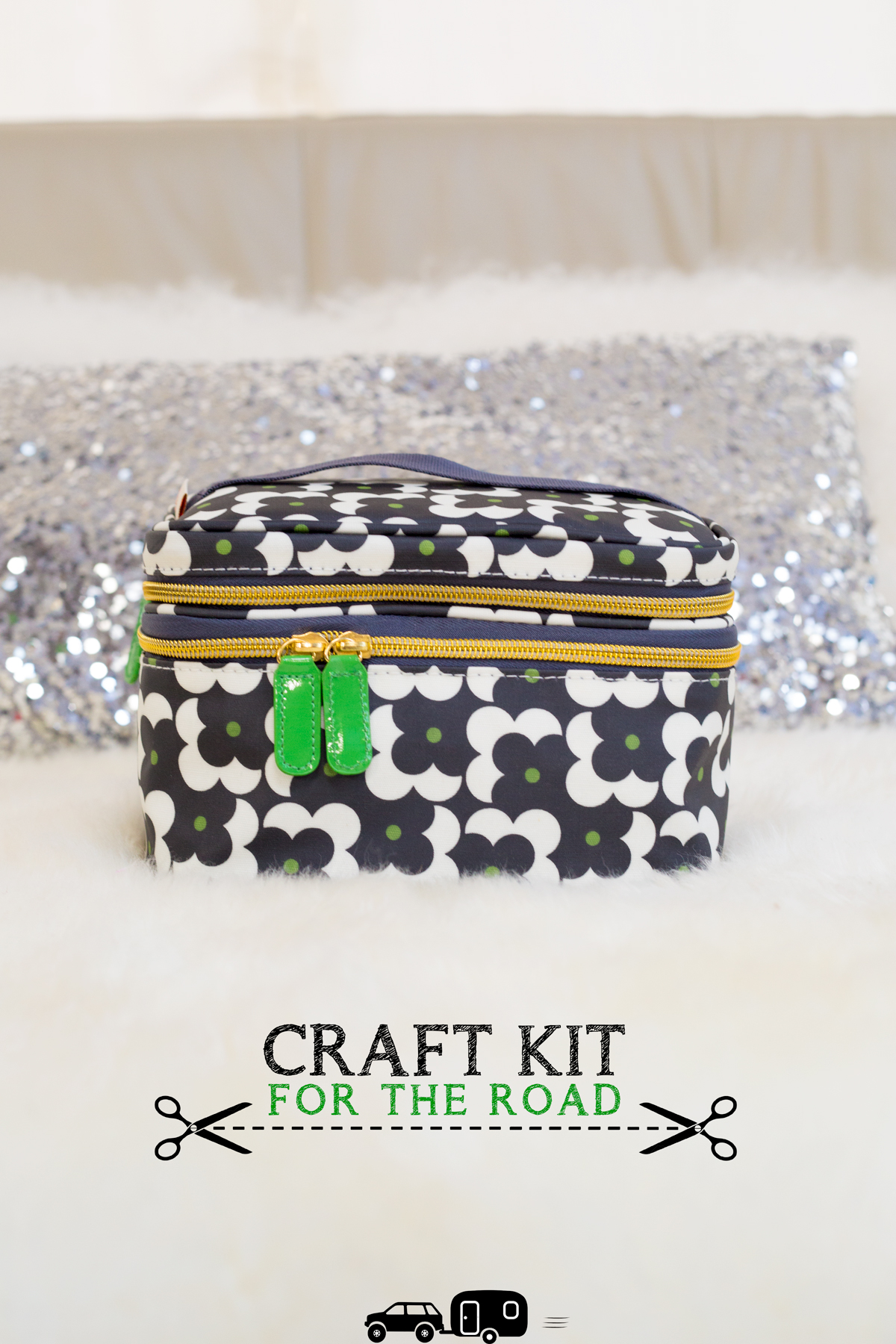 Craft Kit For the Road via J5MM.com // RVing Lifestyle