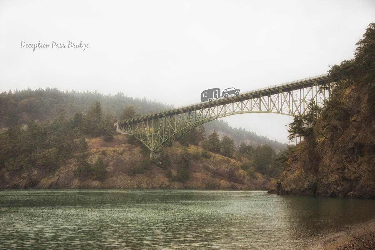 Deception Pass Bridge via J5MM.com