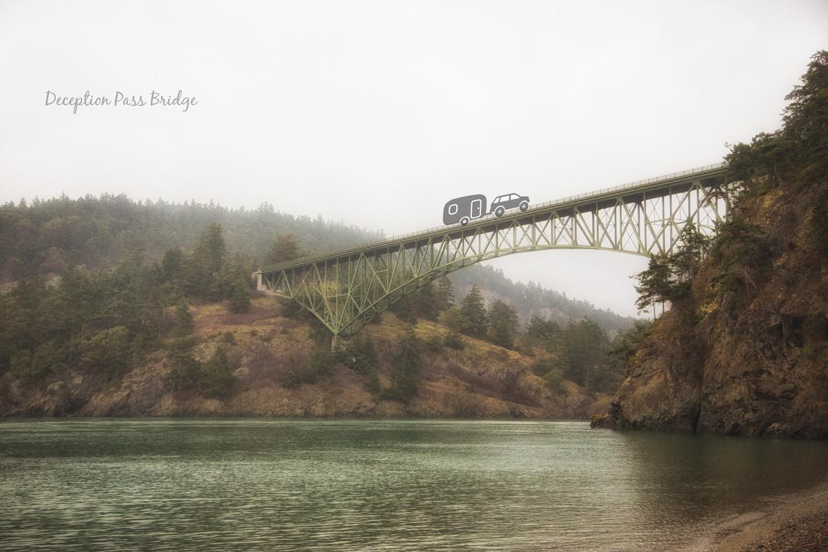 Deception Pass Bridge via J5MM.com