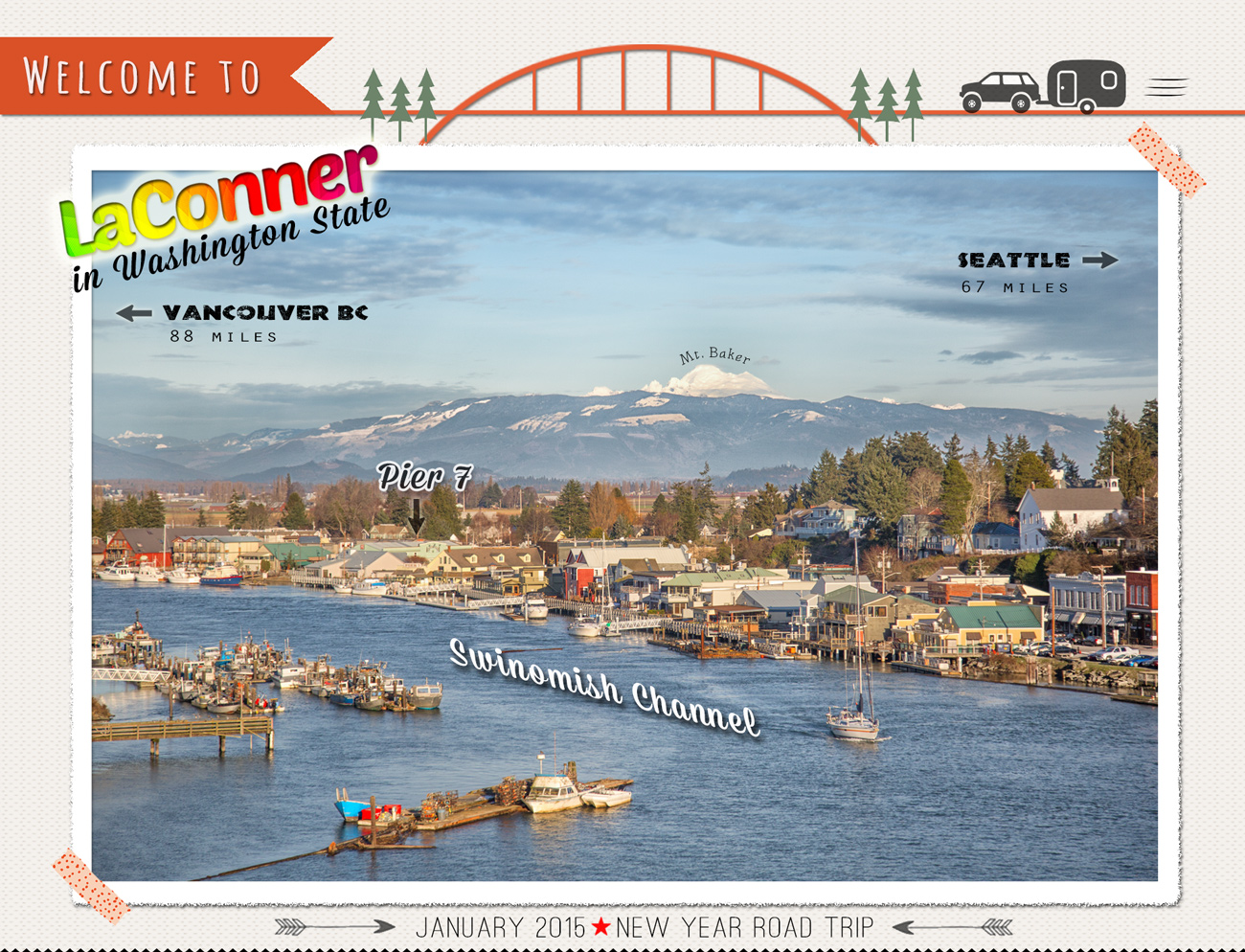 LaConner, Washington Town Guide via J5MM.com