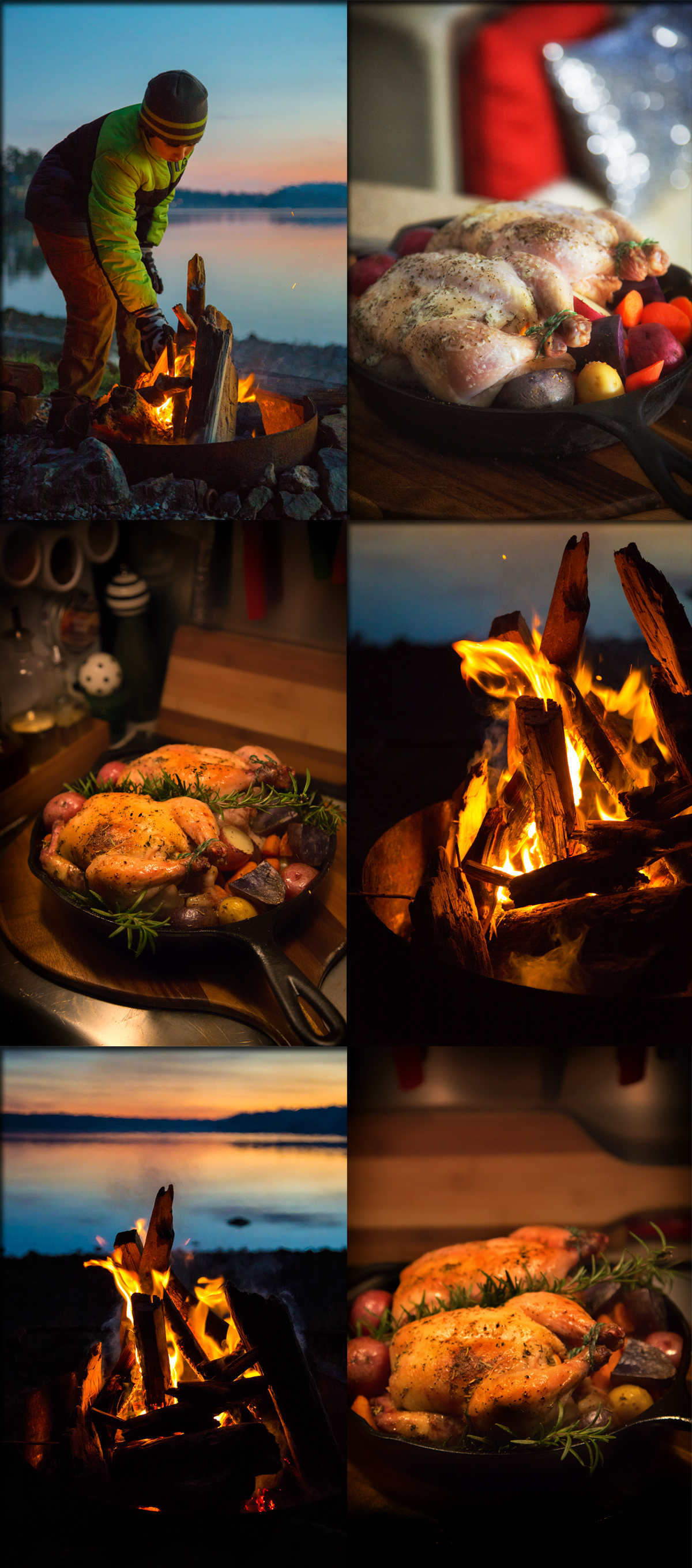 Cornish Game Hens and a Campfire via J5MM.com // Airstream Road Trip