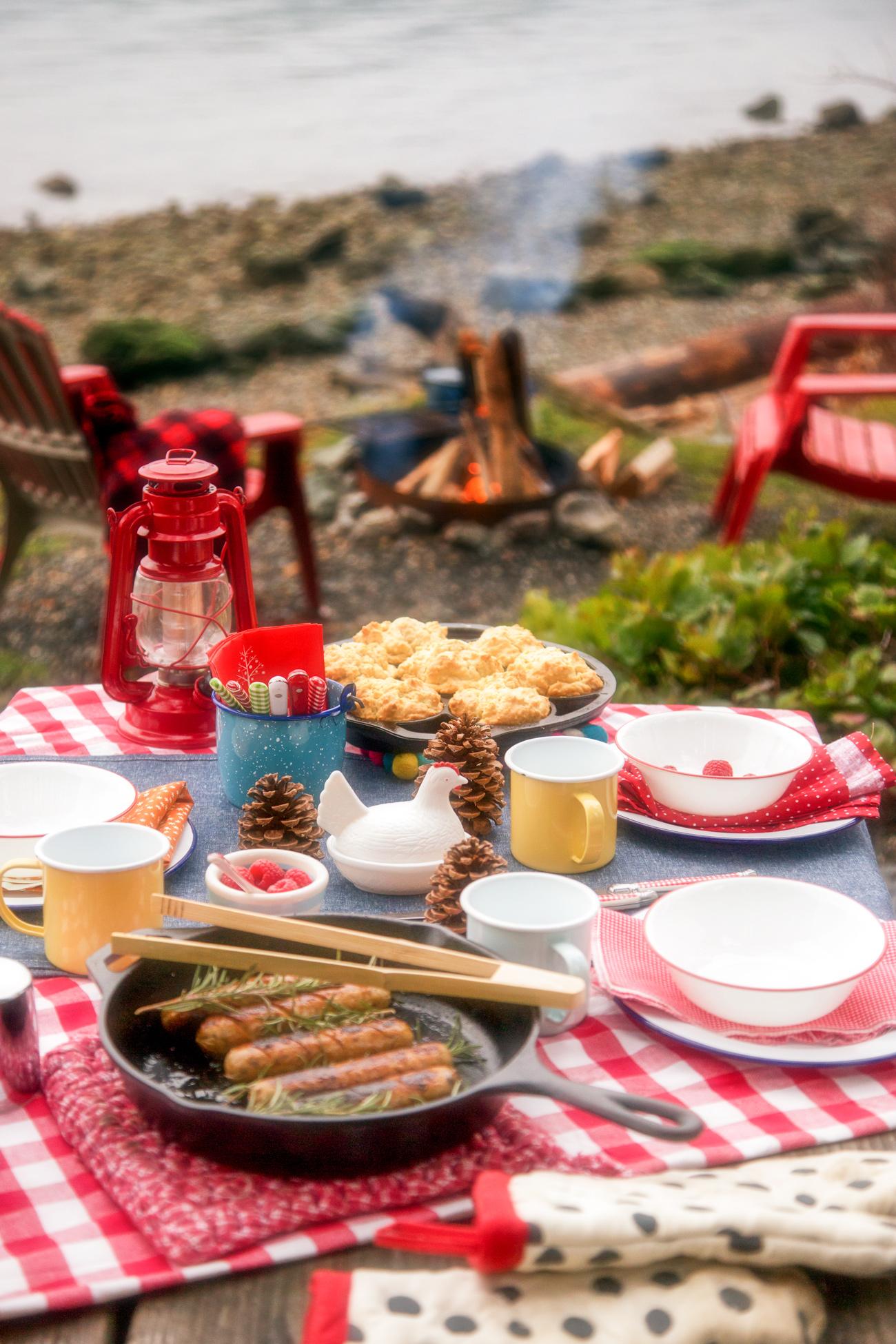 Glamping Breakfast via J5MM.com