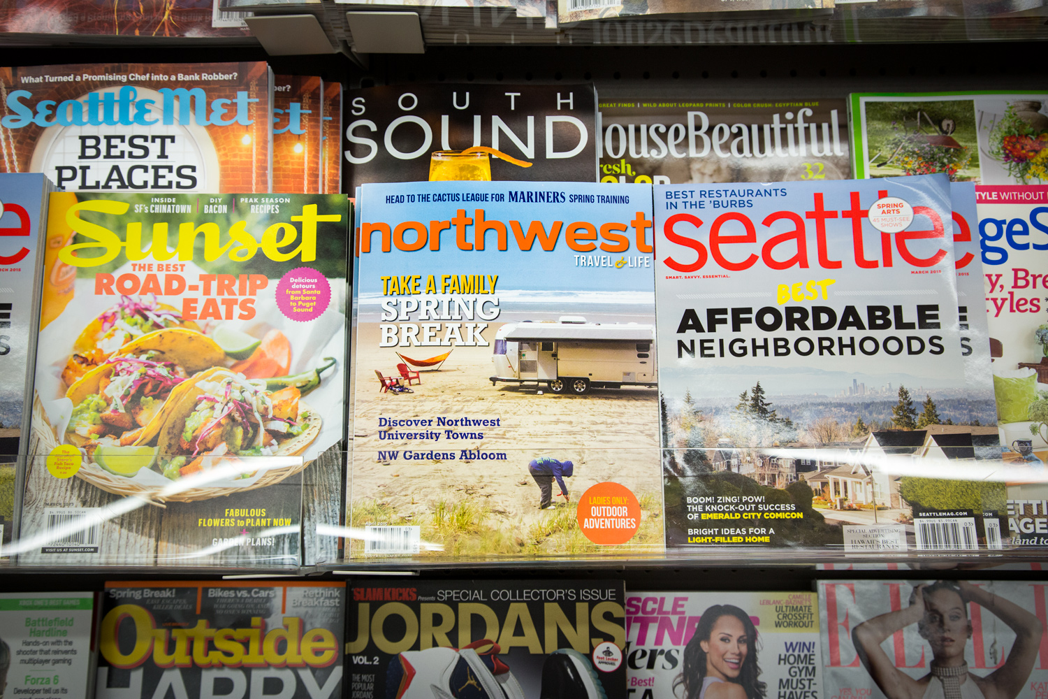 Northwest Travel Magazine, April 2015 Issue via J5MM.com // Monica Bennett #Airstream