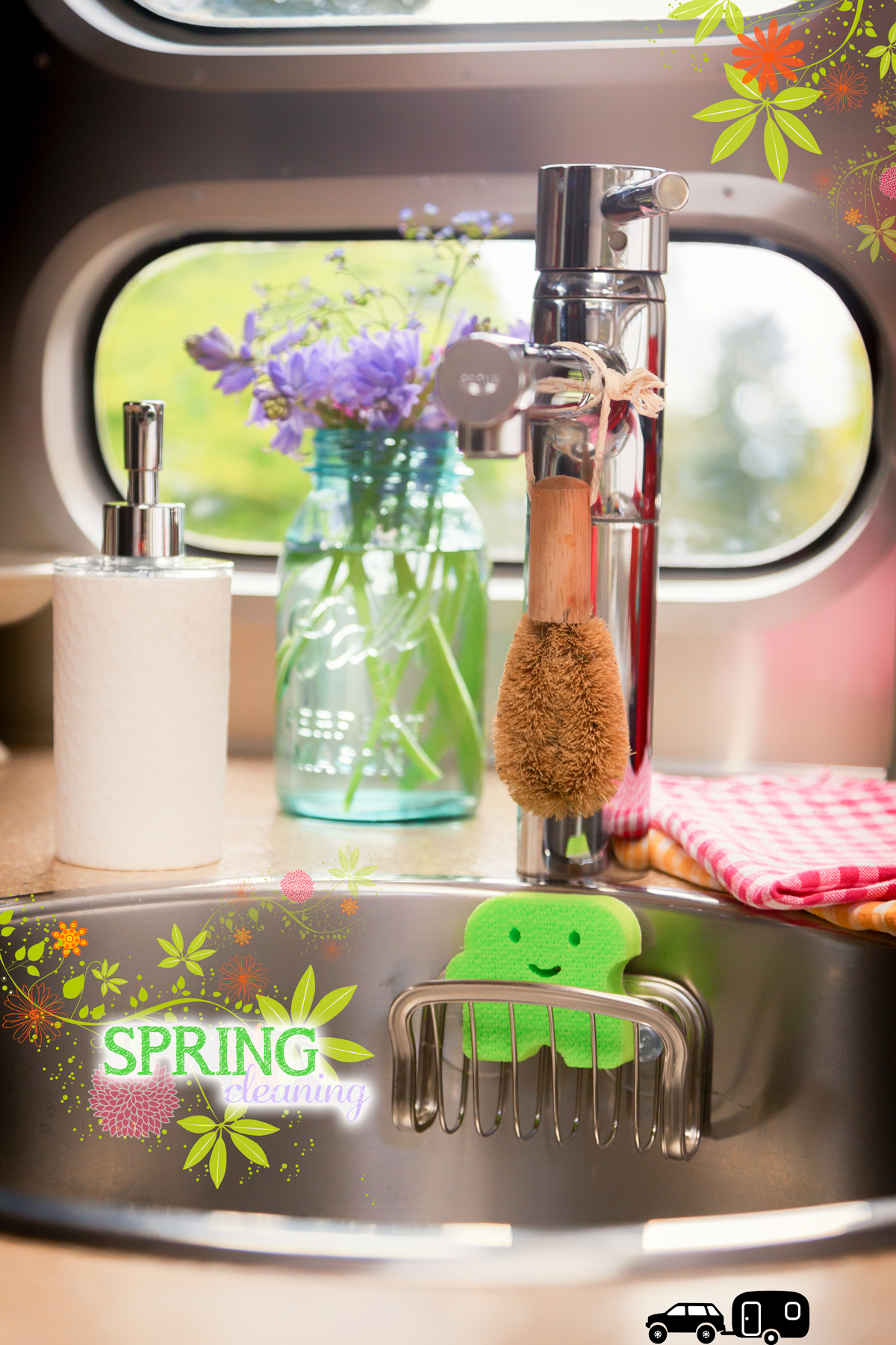 Spring Cleaning your RV via J5MM.com // RV Lifestyle #Airstream Style