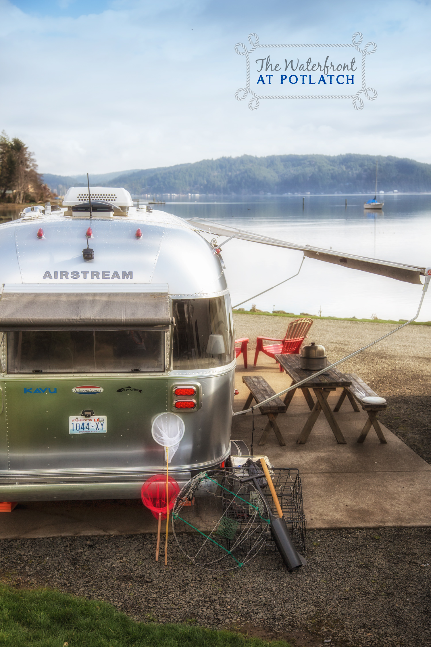 Waterfront at Potlatch via J5MM.com // #Airstream Olympic Peninsula