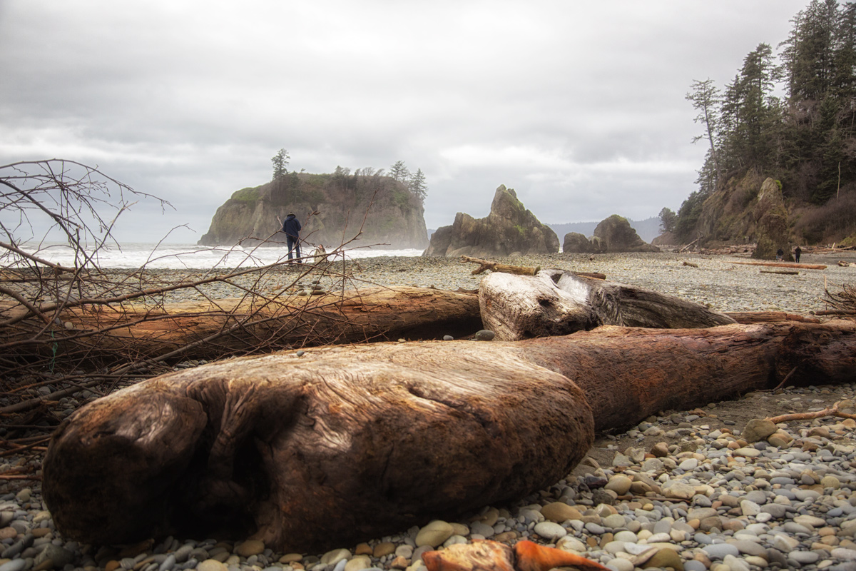 Ruby Beach, Olympic Peninsula via J5MM.com // #Airstream #GoRVing