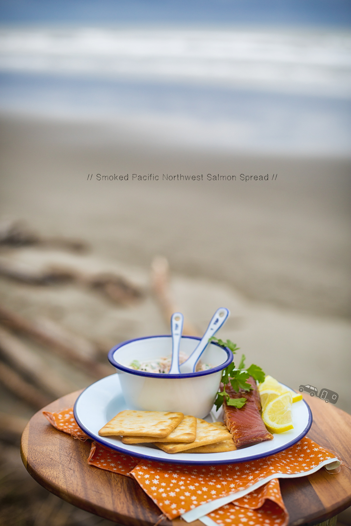 Pacific Northwest Smoked Salmon Spread via J5MM.com // #Airstream