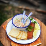 smoked salmon spread via J5MM.com // #Airstream