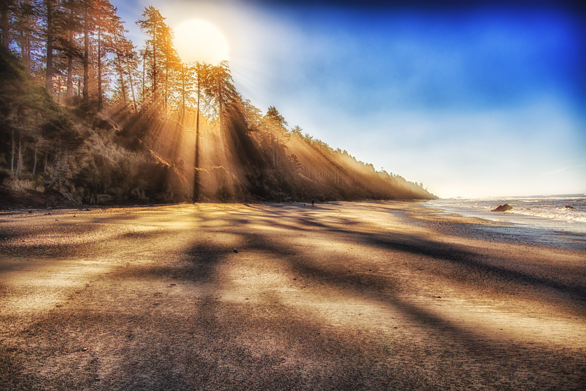 Sunrise at Beach 4 on the Olympic Peninsula of Washington State via J5MM.com // #Airstream
