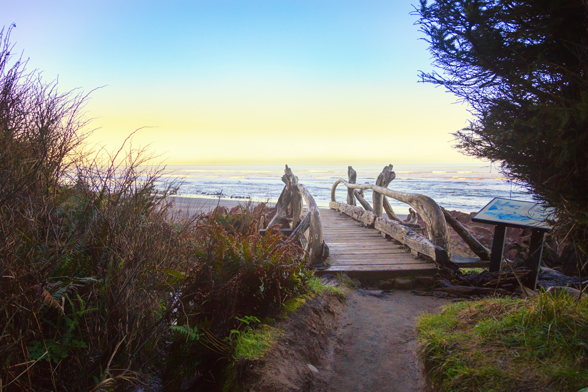 Bridge at Beach 4 on the Olympic Peninsula of Washington State via J5MM.com // RV Lifestyle #Airstream Style