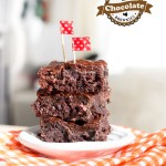 Rich Chocolate Brownies via J5MM.com // #Airstream