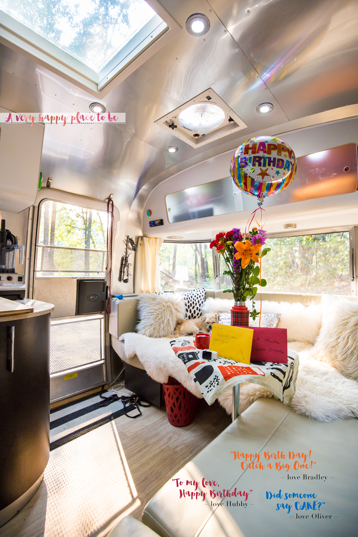 Airstream Birthday Celebrations via J5MM.com