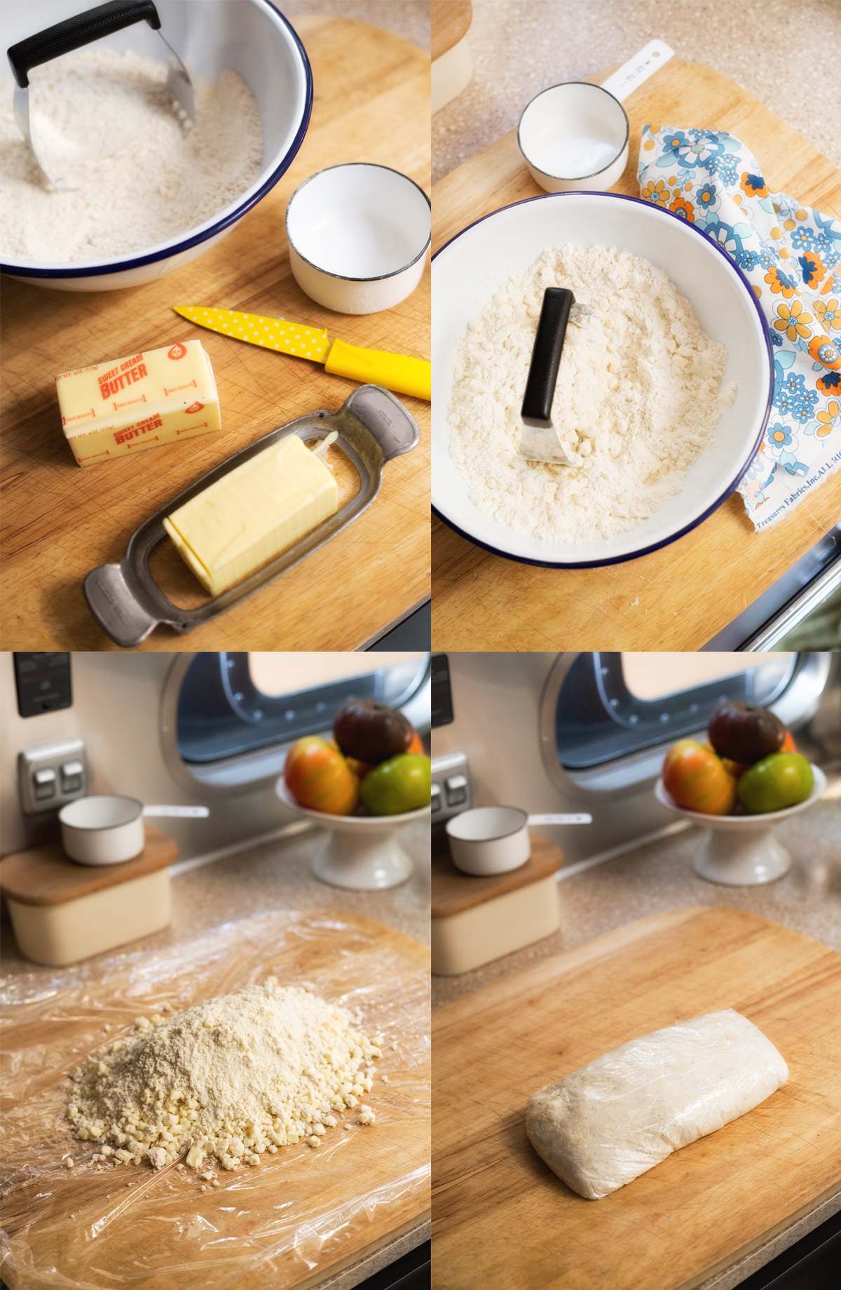 Foolproof Pie Crust recipe via J5MM.com