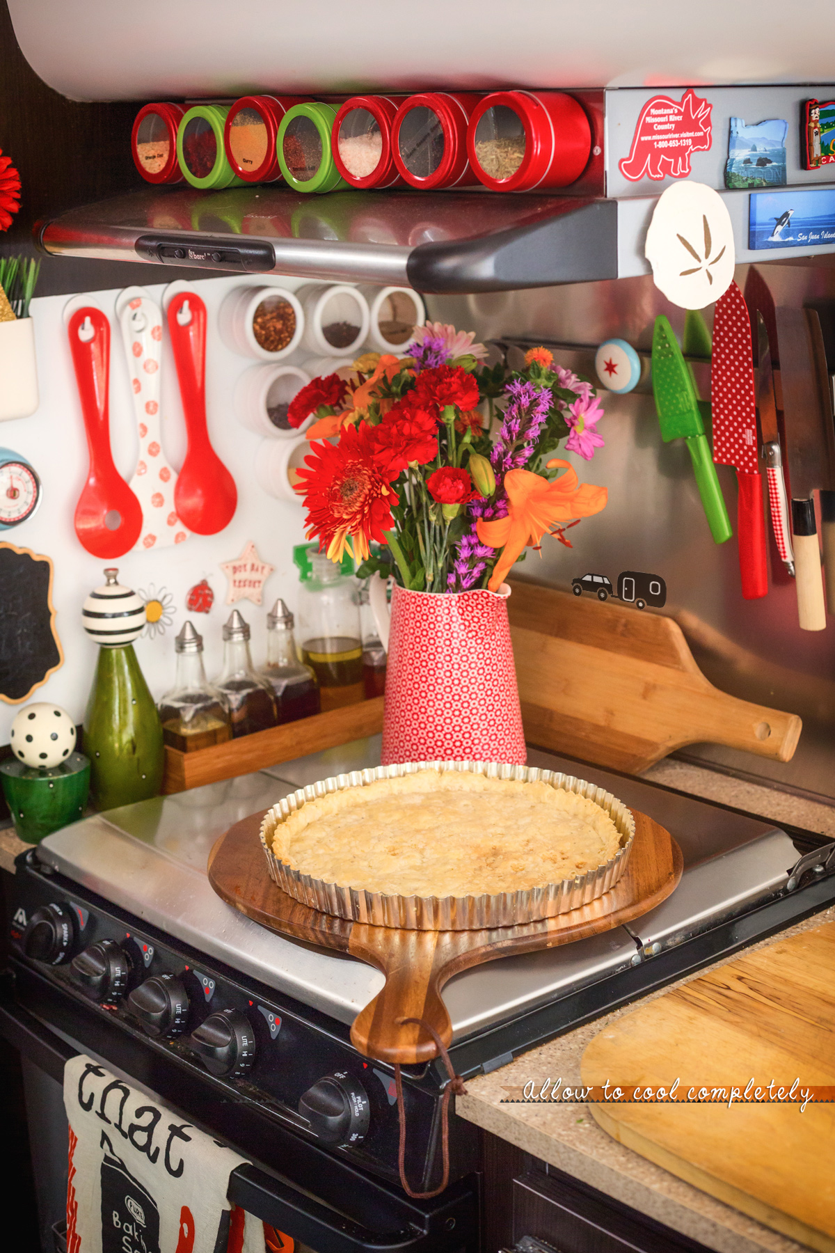 Cooling Vodka Pie Crust via J5MM.com