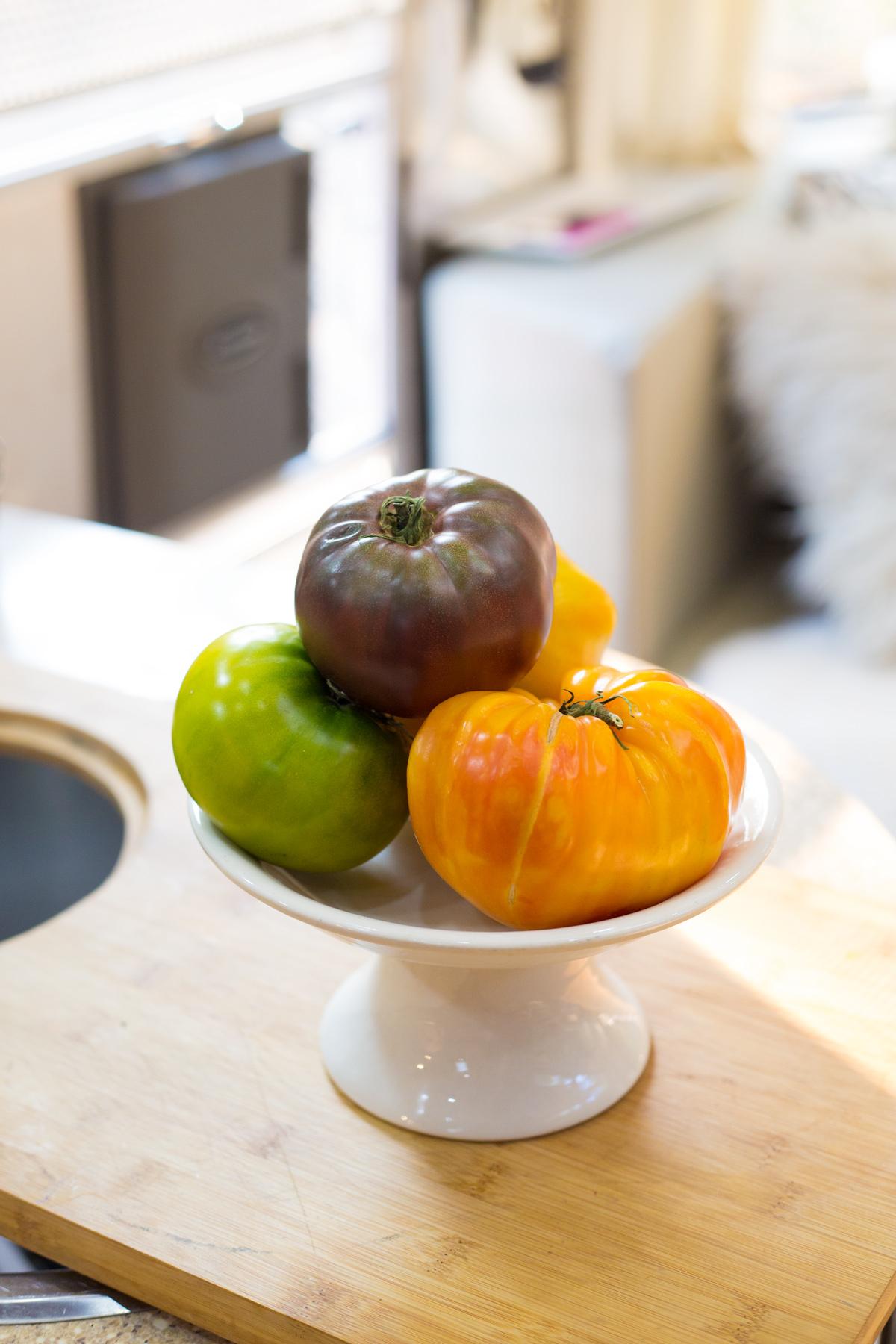 Heirloom Tomatoes via J5MM.com
