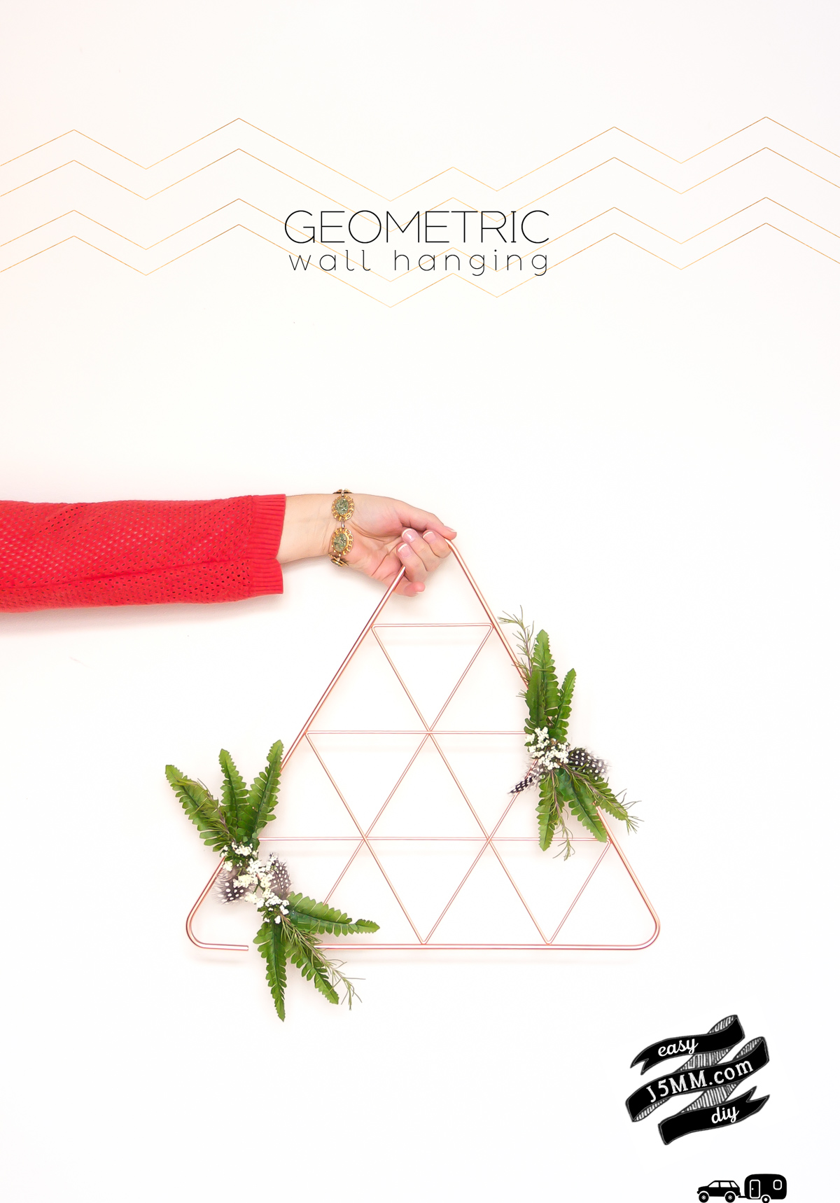2016 Interior Design Trends - Geometric Wall Decor (1 of 5)