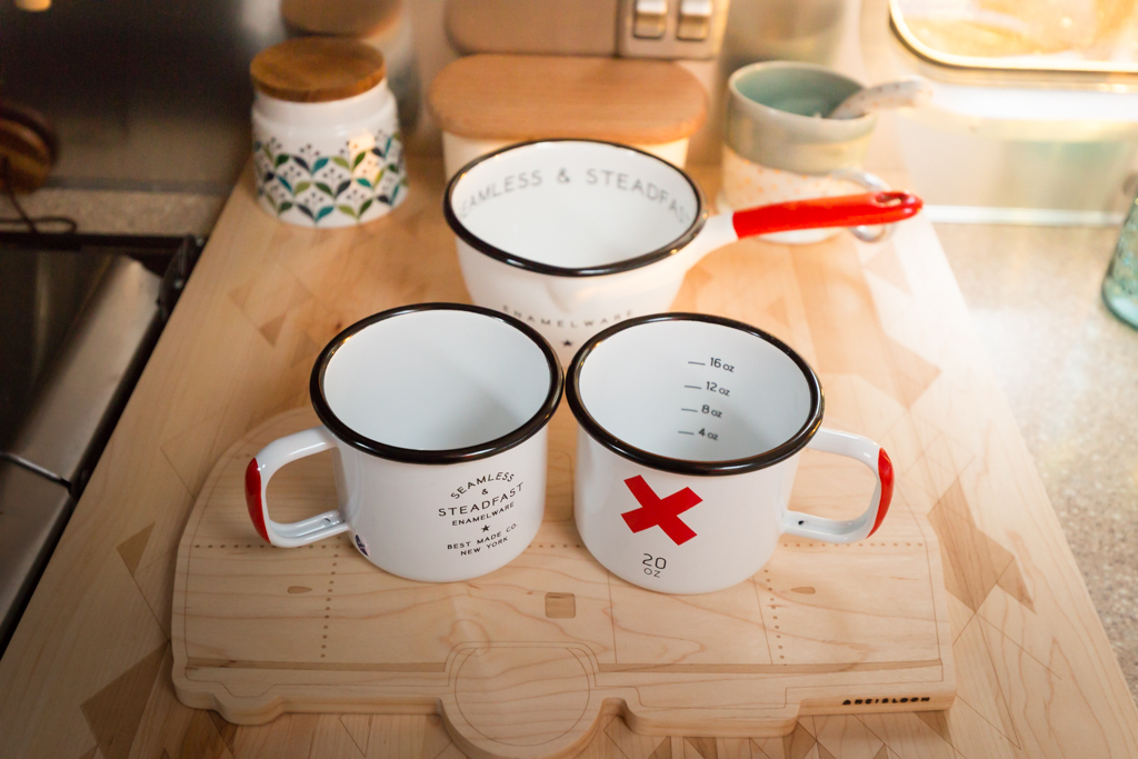 Enamelware from Best Made Co via J5MM.com