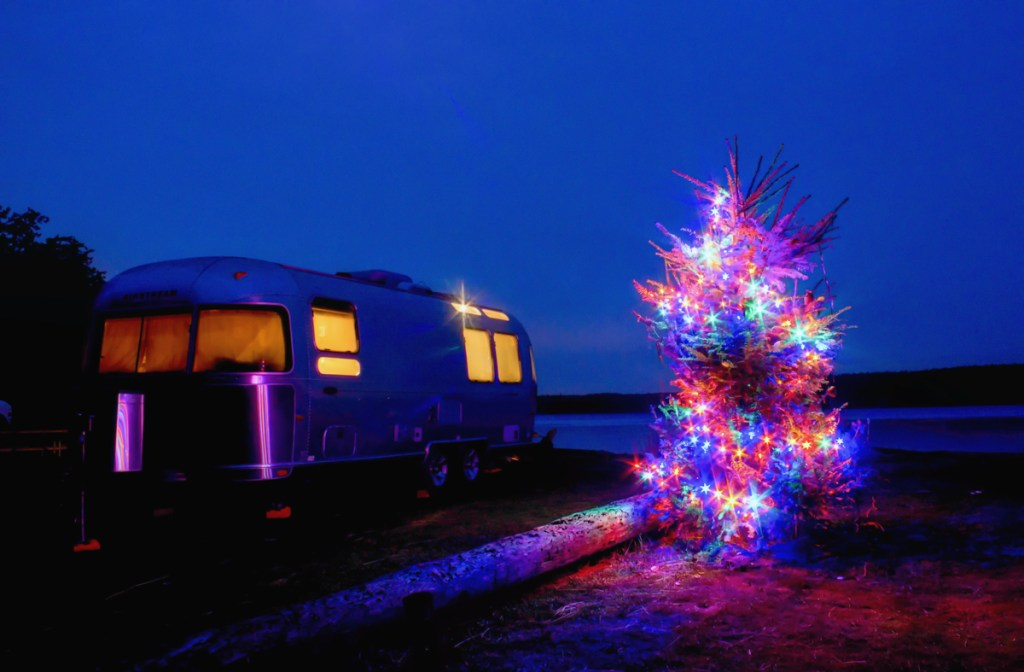 San Juan Islands Holiday RV Vacation via J5MM.com / #Airstream #GoRVing