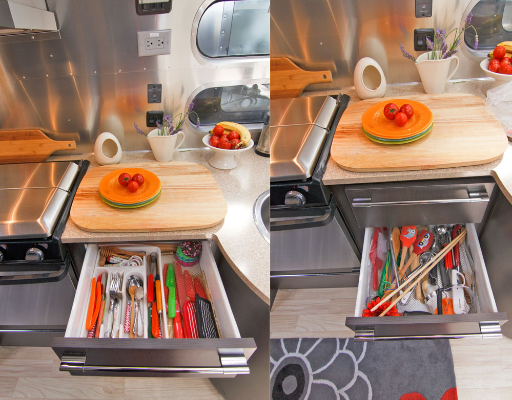 rv kitchen accessories peek inside our airstream 187 just 5 more minutes 2073